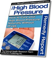 Natural High Blood Pressure Treatment