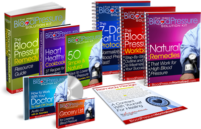 The High Blood Pressure Solution Kit Book